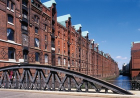 Hamburg, Speicherstadt, Deutschland
