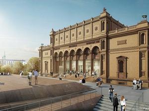 Projekt: Züblin modernisiert die Hamburger Kunsthalle