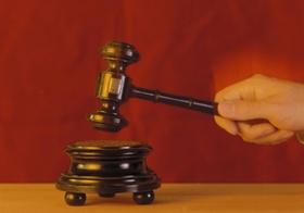 Hammer eines Richters