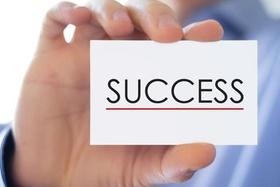 Success - Business card