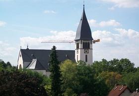 Hattersheim_Hessen_Kirchturm