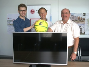 Wohnungsbau Ludwigsburg: Marketingaktion Online-Basketball