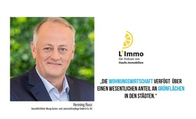 Header L'Immo Podcast Henning Russ, WISAG
