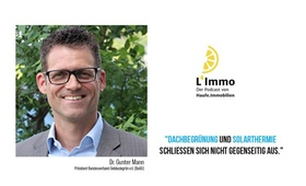 Header L'Immo Podcast mit Dr. Gunter Mann