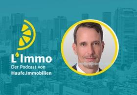 Header L'Immo Podcast mit William Ertz, Invesco Real Estate