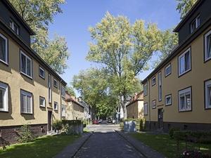 Deutsche Wohnen saniert Werkssiedlungen in Hanau und Düsseldorf