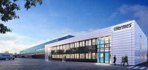ECE realisiert neun Logistik-Center für Hermes