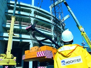 Hochtief verkauft Mehrheitsanteil an Baulogistik-Tochter Streif