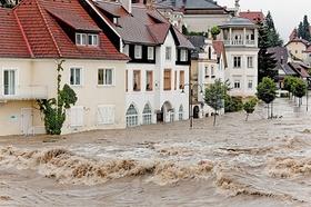 Hochwasser, Naturkatastrophe, Klimawandel