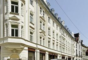 Hofstatt München Hackenstraße Fassade
