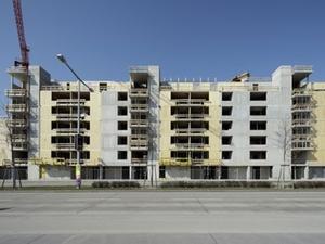 Ein Beispiel aus Wien: Holzhäuser wachsen in den Himmel
