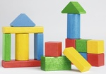 Holzspielzeug, Bausteine