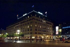 Hotel Adlon Berlin nachts