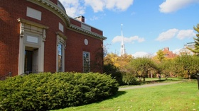 Houghton Library der Harvard University in Cambridge