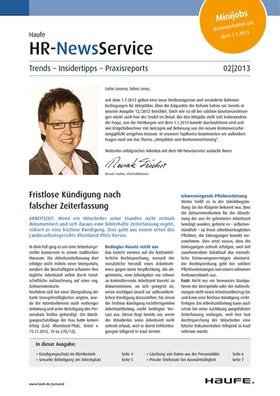 HR News 02 2013