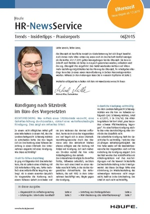 HR News Service Ausgabe Juni 2015 | HR Newsservice
