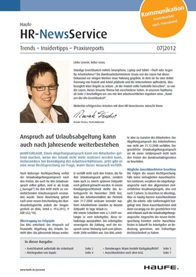 HR News 07 2012
