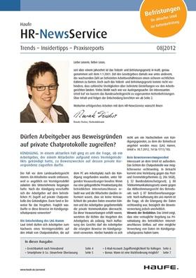 HR News 08 2012
