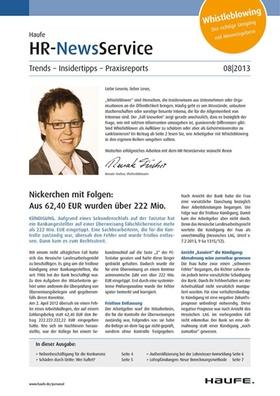 HR News 08 2013