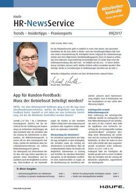 HR News 09 2017