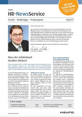 HR News 10 2017
