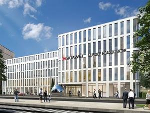 """Huawei eröffnet Europazentrale im """"Silizium"""" in Düsseldorf"""