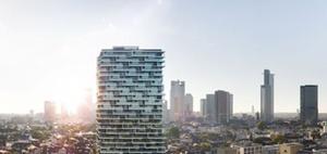 """Frankfurt: Hybridhochhaus """"One Forty West"""" darf gebaut werden"""