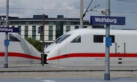 ICE Bahnhof Wolfsburg