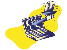 Illustration E-Learning Schwerpunkt Gloss