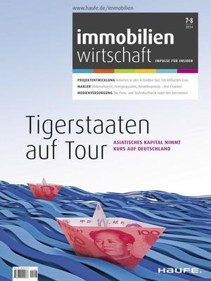 Immobilienwirtschaft Ausgabe 07+08/2014 | Immobilienwirtschaft: Magazin für Management, Recht, Praxis