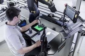 Industriearbeitsplatz 4.0 bei Bosch