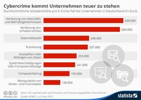 Infografik: Cybercrime