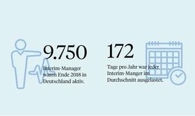 Interim-Management in Zahlen