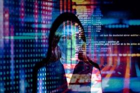 IT und Digitalisierung: Code über Frau