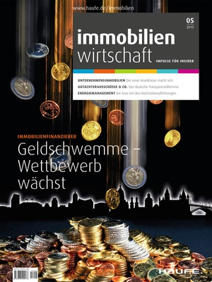 Immobilienwirtschaft Ausgabe 05/2015   Immobilienwirtschaft: Magazin für Management, Recht, Praxis