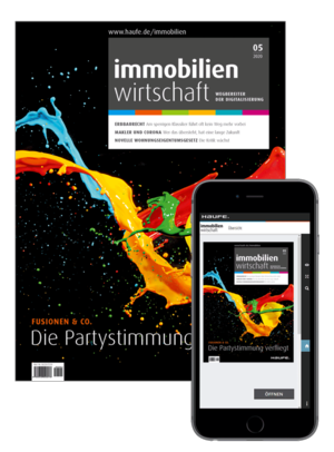 Immobilienwirtschaft 05/2020 | Immobilienwirtschaft: Magazin für Management, Recht, Praxis