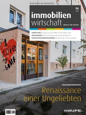 Immobilienwirtschaft 6/2018 | Immobilienwirtschaft: Magazin für Management, Recht, Praxis