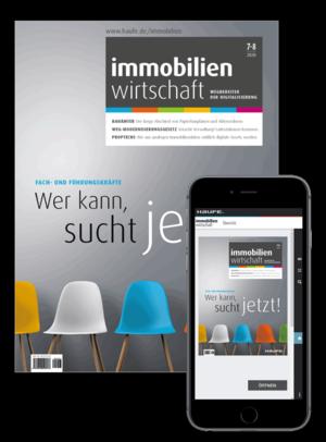 Immobilienwirtschaft 07+08/2020 | Immobilienwirtschaft: Magazin für Management, Recht, Praxis