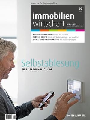 Immobilienwirtschaft 9/2019 | Immobilienwirtschaft: Magazin für Management, Recht, Praxis