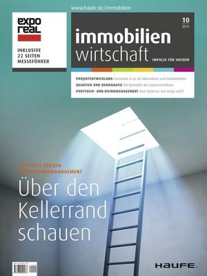 Immobilienwirtschaft Ausgabe 10/2014 | Immobilienwirtschaft: Magazin für Management, Recht, Praxis