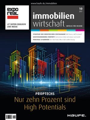 Immobilienwirtschaft 10/2017 | Immobilienwirtschaft: Magazin für Management, Recht, Praxis