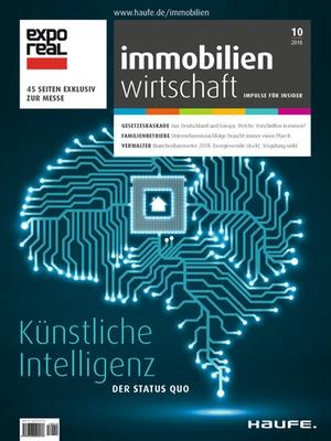 Immobilienwirtschaft 10/2018 | Immobilienwirtschaft: Magazin für Management, Recht, Praxis