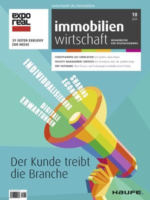 Immobilienwirtschaft 10/2019 | Immobilienwirtschaft: Magazin für Management, Recht, Praxis