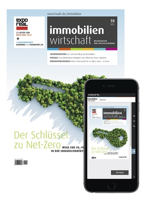 Immobilienwirtschaft 10/2021 | Immobilienwirtschaft: Magazin für Management, Recht, Praxis