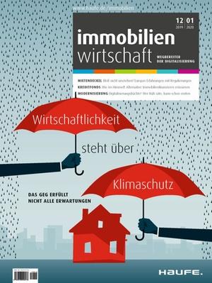 Immobilienwirtschaft 12/2019+01/2020 | Immobilienwirtschaft: Magazin für Management, Recht, Praxis