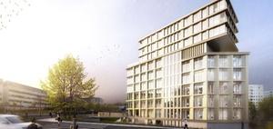 Projekt: In Jena entsteht das erste Hochhaus seit der Wende