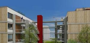 Genossenschaftliches Modell für den Bau von Werkswohnungen