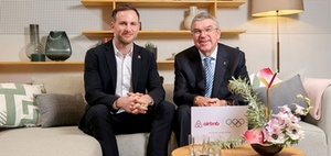 IOC und Airbnb schließen lukrative Kooperation