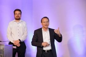 Johannes Wild (links) und Berthold Ketterer auf dem Congress der Controller 2019