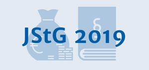JStG 2019: Einführung